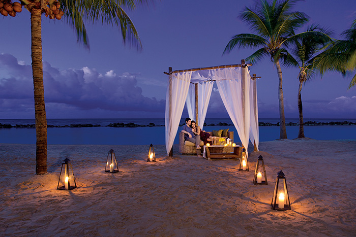 Romantic Lobster Dinner on the Beach