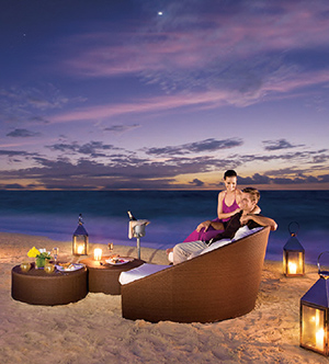 Seaside Secluded Candlelit Dinner