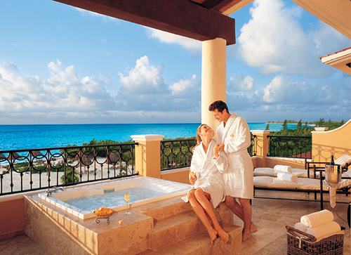 Upgrade to the Honeymoon Suite