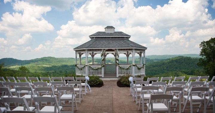 Wedding venues in west virginia mini bridal for Honeymoon spots in virginia